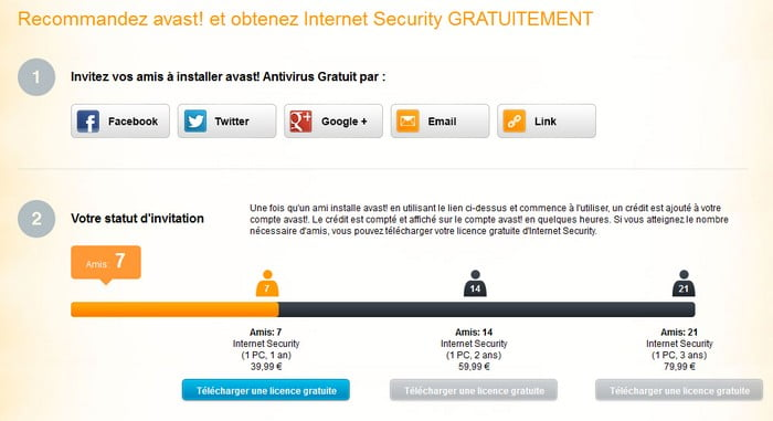 avast internet security gratuit pour sept recomendations
